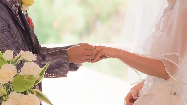 婚活 デカ女 結婚式